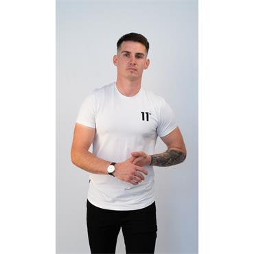 Core Muscle Fit T-Shirt - WHITE