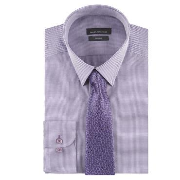 TAPERED OWEN SHIRT        D&G - 74 PURPLE