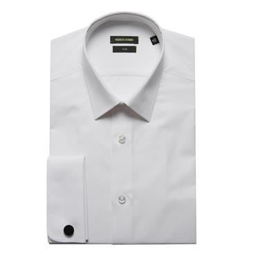 ASHTON Rome/f Shirt REMUS - 01 WHITE
