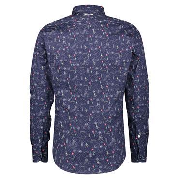 Fish Named Shirt Modern Shirt - Navy
