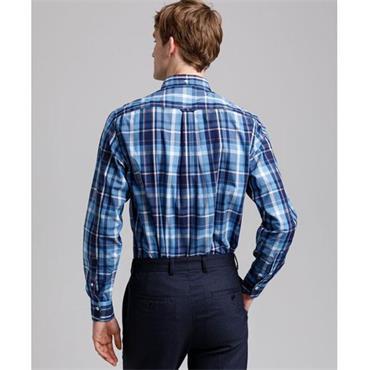 Gant Madras Shirt - PACIFIC