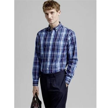 Gant Madras Shirt - PACIFIC