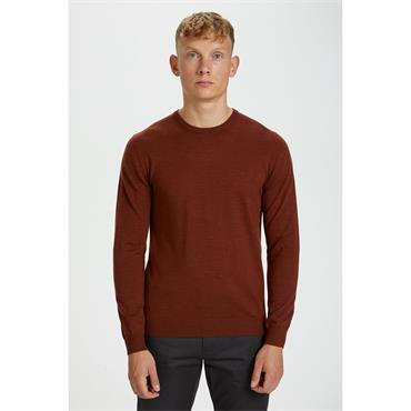 Matinque Crew Neck Jumper - RUST