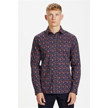 Matinique Printed Shirt - RUST