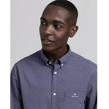 Gant Micro Dot Weave Shirt - PERSIAN