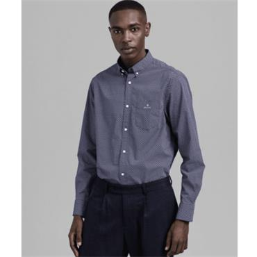 Gant Micro Dot Weave Shirt - PERSIAN