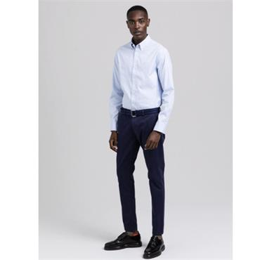 PINPOINT OXFORD REG BD - CAPRI BLUE