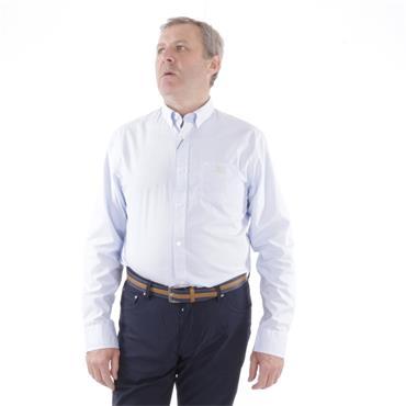 Gant Micro Check  Casual Shirt - CAPRI BLUE