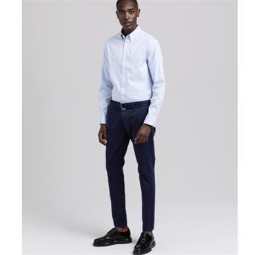 Gant Fil A Fil Check Shirt - BLUE