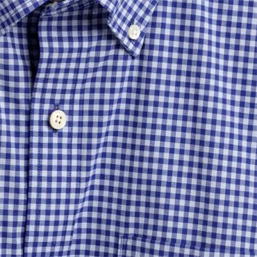Gant Gingham Shirt - BLUE
