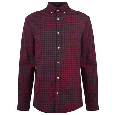 Gant Gingham Shirt - PORT
