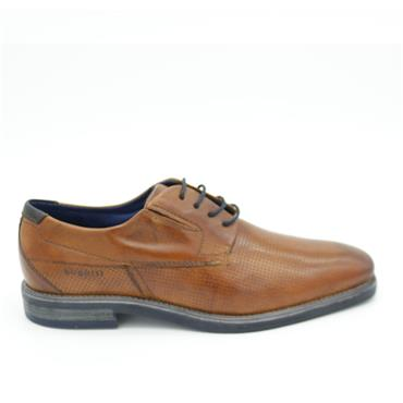 Bugatti Dress Shoe - COGNAC