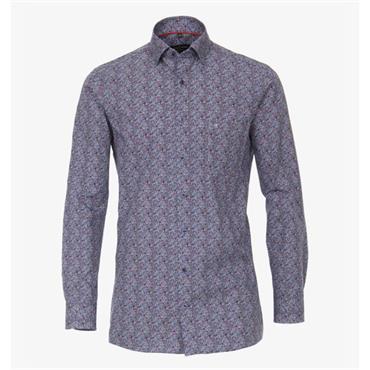 Floral Design Shirt - Floral
