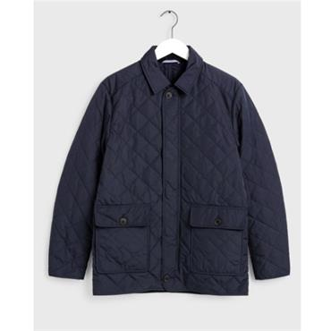 The Quilted City Jacket - BLUE