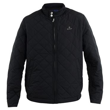 Gant Quilted Wincheater Jacket - BLACK