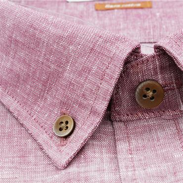Soft Pink Short Sleeve Shirt - ROSE