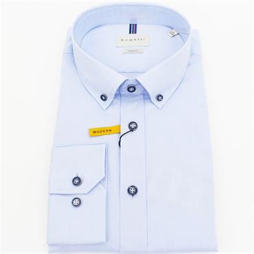 Long Sleeve Casual Shirt - LIGHT BLUE
