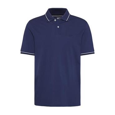 Bugatti Polo Shirt Tipped - 370 Blue