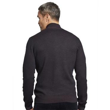 Premium Wool Mix Half-Zip - PURPLE