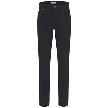 Modern Fit Structure Cotton Chino - Navy