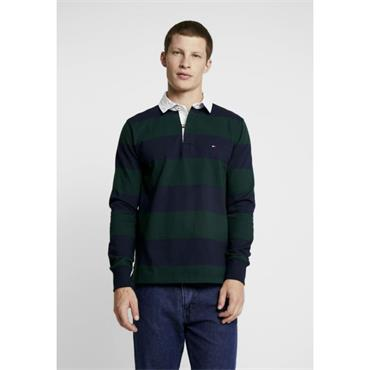 TOMMY BLOCK RUGBY POLO - ASSORTED