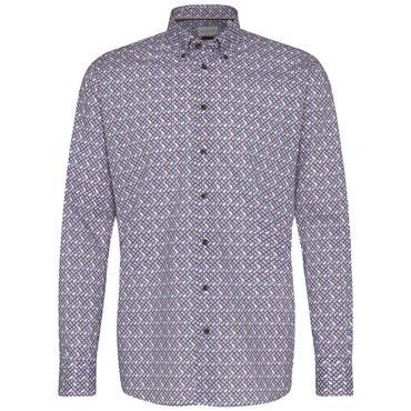 Multi Coloured Print Design Shirt - MULTI STRIPE