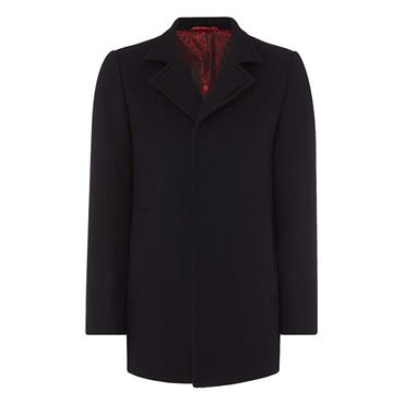 LOHMANN OVERCOAT - BLACK