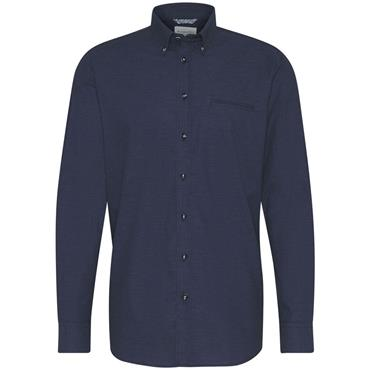 Button Down Casual Shirt - Navy