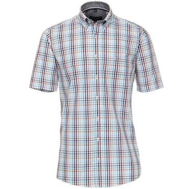 B.D. Comfort Fit Leisure Shirt - TURQUOISE