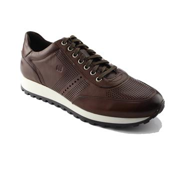 CONTE Trainer SHOES   GORDON & BROS - BROWN CHECK