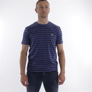 Xv Kings Stripe Tee - INDIGO