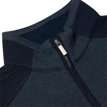 Biden Quarter Zip Sweater - OLIVE