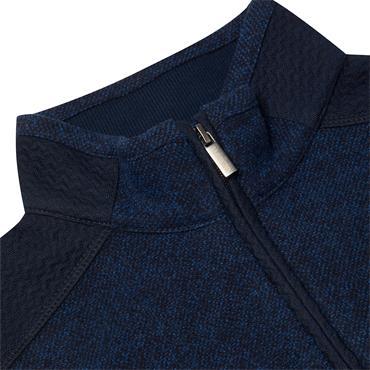 Biden Quarter Zip Sweater - PETROL