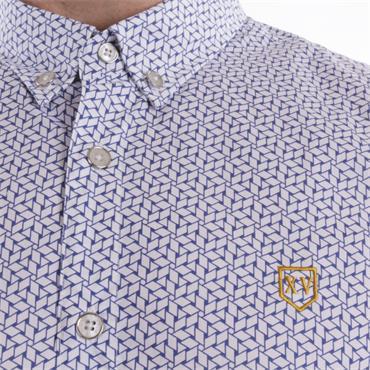 Xv Kings Short Sleeve Shirt - Blue Combi