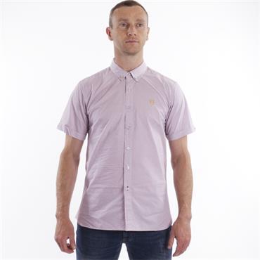Xv Kings Short Sleeve Shirt - Mauve Maize