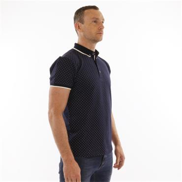 Xv Kings Polo White Dot - MARINE