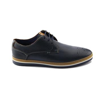 CLEVEDON SHOES   BRENT POPE - BLUE
