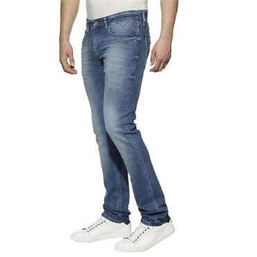 Slim Scanton Jean Tommy J - Berry Mid Blue