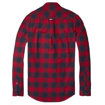 ESS. FLANNEL CHECK SHIRT  TJM - 602 Samba