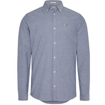 Tommy Jeans Stretch Oxford Shirt - Navy