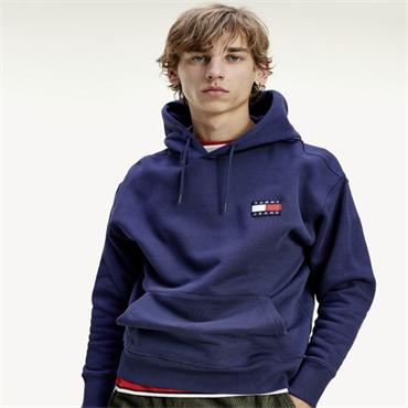 Tommy Badge Hood - 007 NAVY