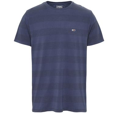 Tommy Jeans Bold Stripe Tee - Navy