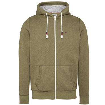 Tommy Jeans Zipthrough Hoodie - OLIVE