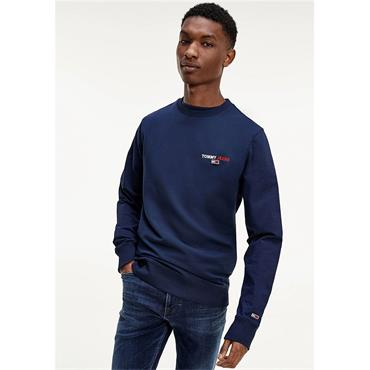 Tommy Jeans Crew Sweat - Navy