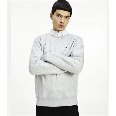 TJM Regular Logo Fleece Sweatshirt - GREY