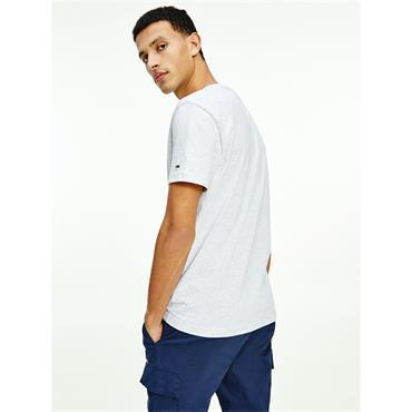TJM Timeless Organic Cotton Flag T-Shirt - GREY