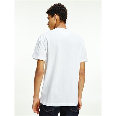 TJM Timeless Organic Cotton Flag T-Shirt - WHITE