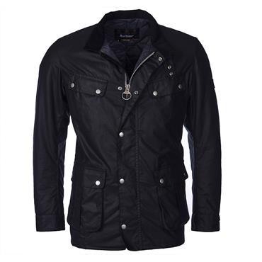 Barbour Wax Jacket - Navy