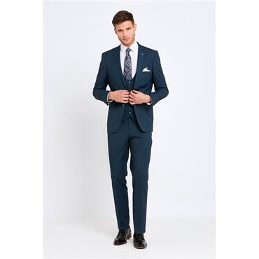 Benetti Slim Fit 3pc Suit - TEAL