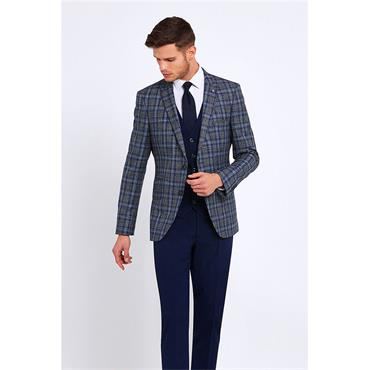 Benetti Slim Fit Suit - ROYAL BLUE